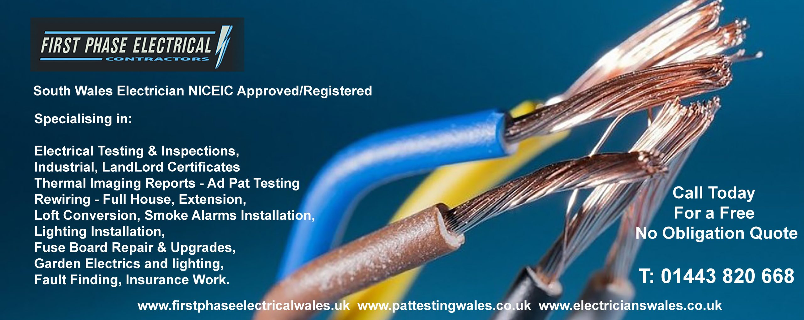 ELECTRICIANS WALES BANNER